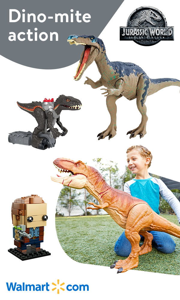Discover dino-mite Jurassic World toys at Walmart. Find all the new ...