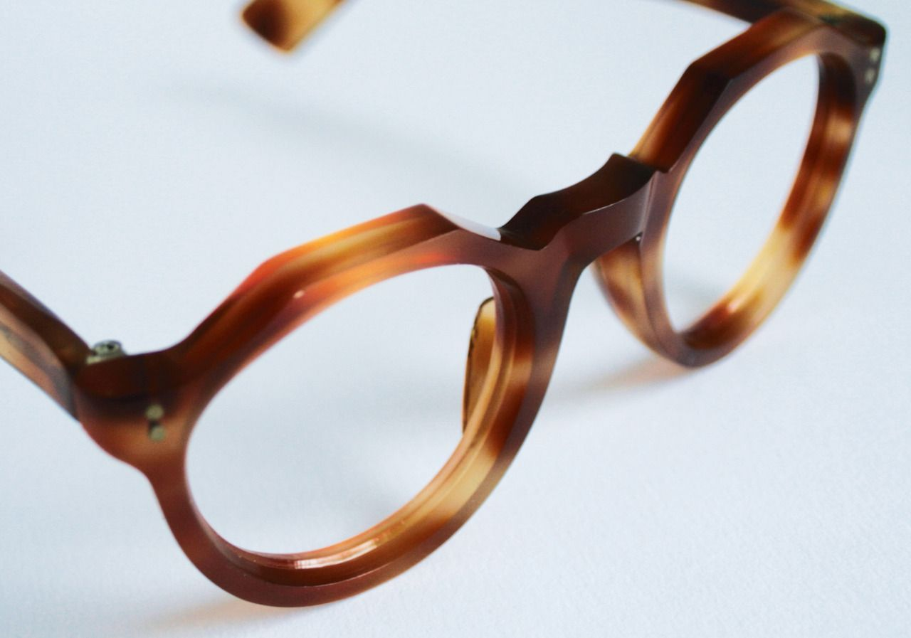 1940s French handmade frames in faux tortoiseshell acetate from ...