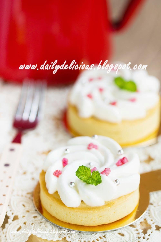dailydelicious: Lychee Tart: My Sweet little tart