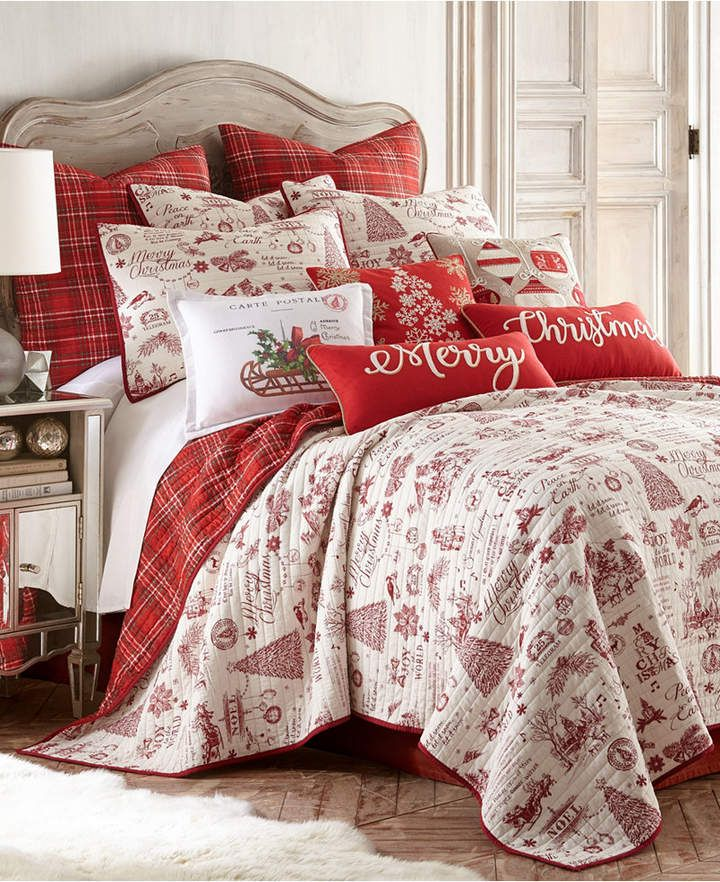 Twin Christmas Bedding Sets.Home Yuletide Twin Quilt Set Products Christmas Bedding