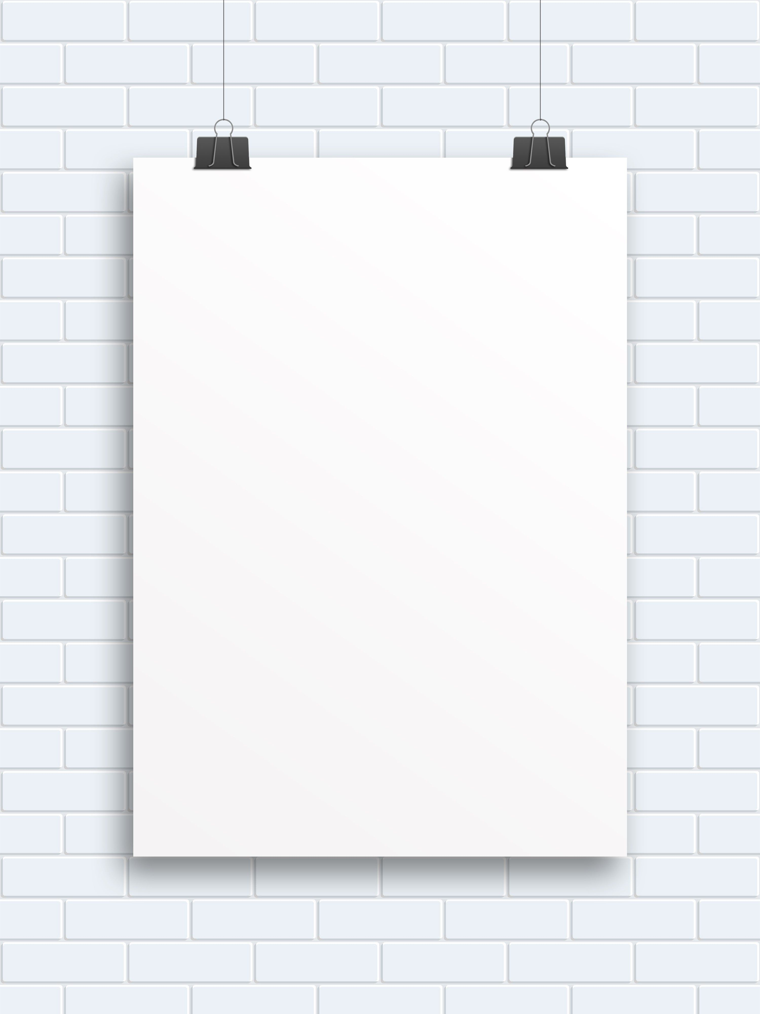 blank poster hanging free blanco objects pinterest blank