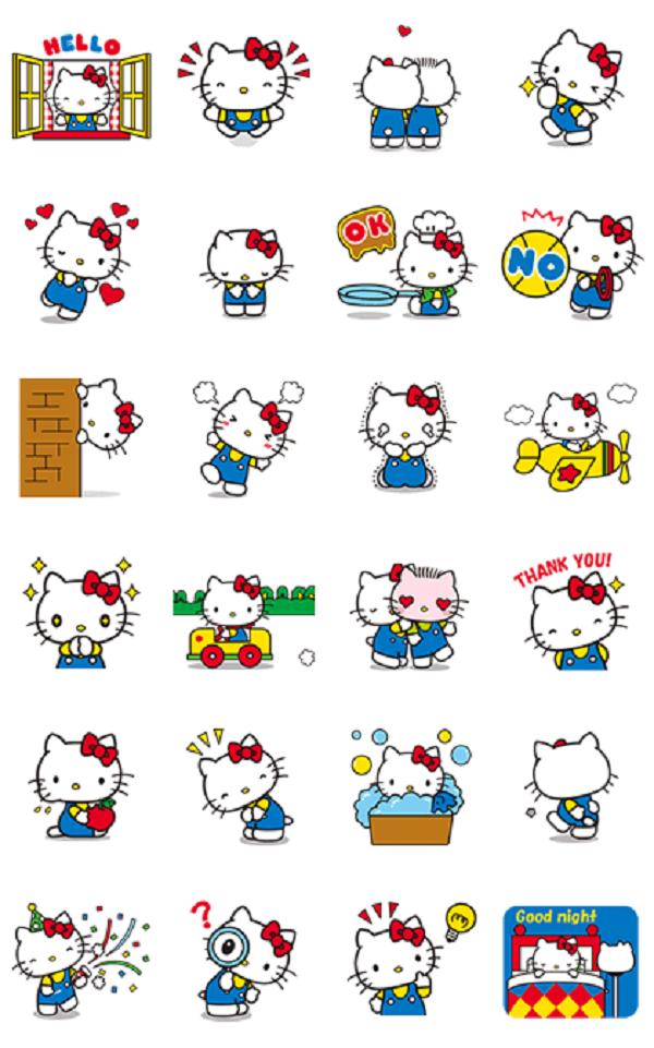 line hello kitty sticker download line hello kitty