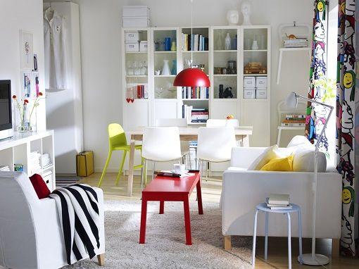 Salon Ikea estilo nórdico | Comedores / DiningLiving room | Pinterest