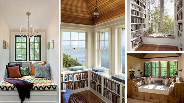 Window Reading Nooks - Hire A Hubby