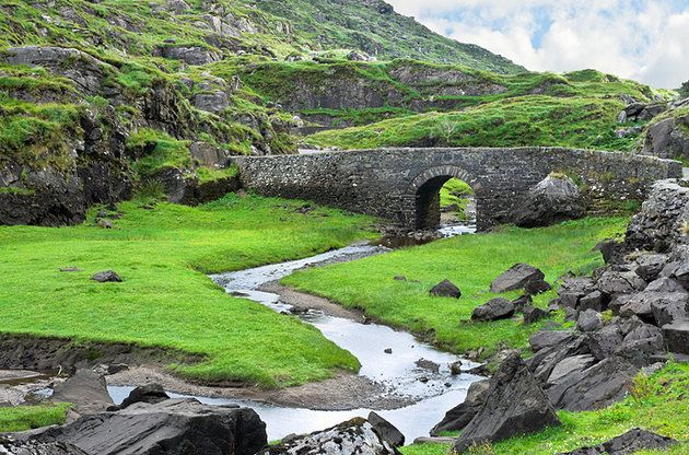 Old stone bridge near the Gap of Dunloe
