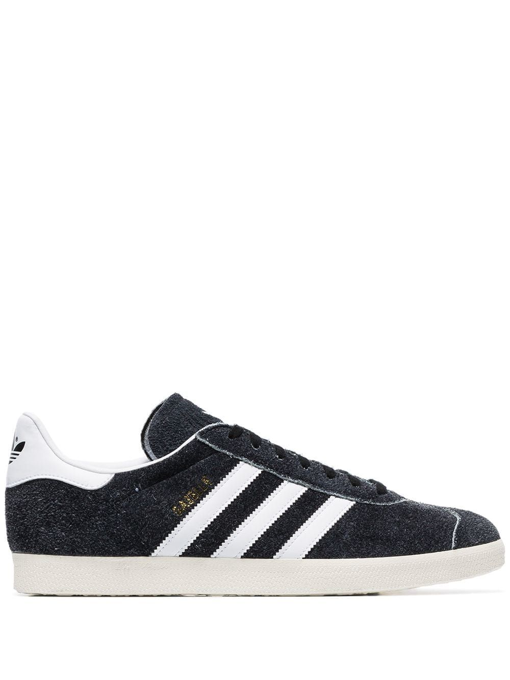 newest collection 22475 988e3 ADIDAS ORIGINALS ADIDAS BLACK AND WHITE GAZELLE SUEDE LOW TOP SNEAKERS.   adidasoriginals  shoes