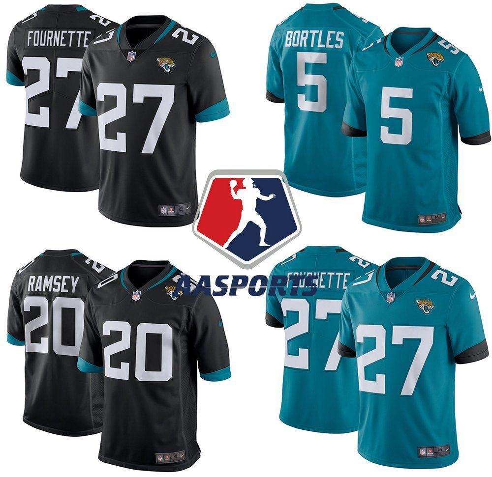 b254f431c4902 Camisa Jacksonville Jaguars - 5 Blake Bortles - 20 Jalen Ramsey - 27  Leonard Fournette