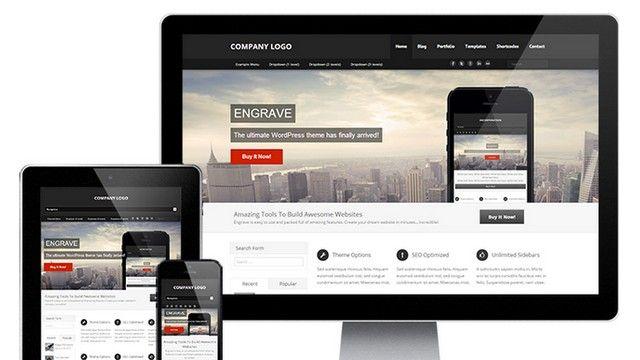 Engrave (Lite) Free WordPress Theme - ZtrixQ WP Themes | Wordpress ...