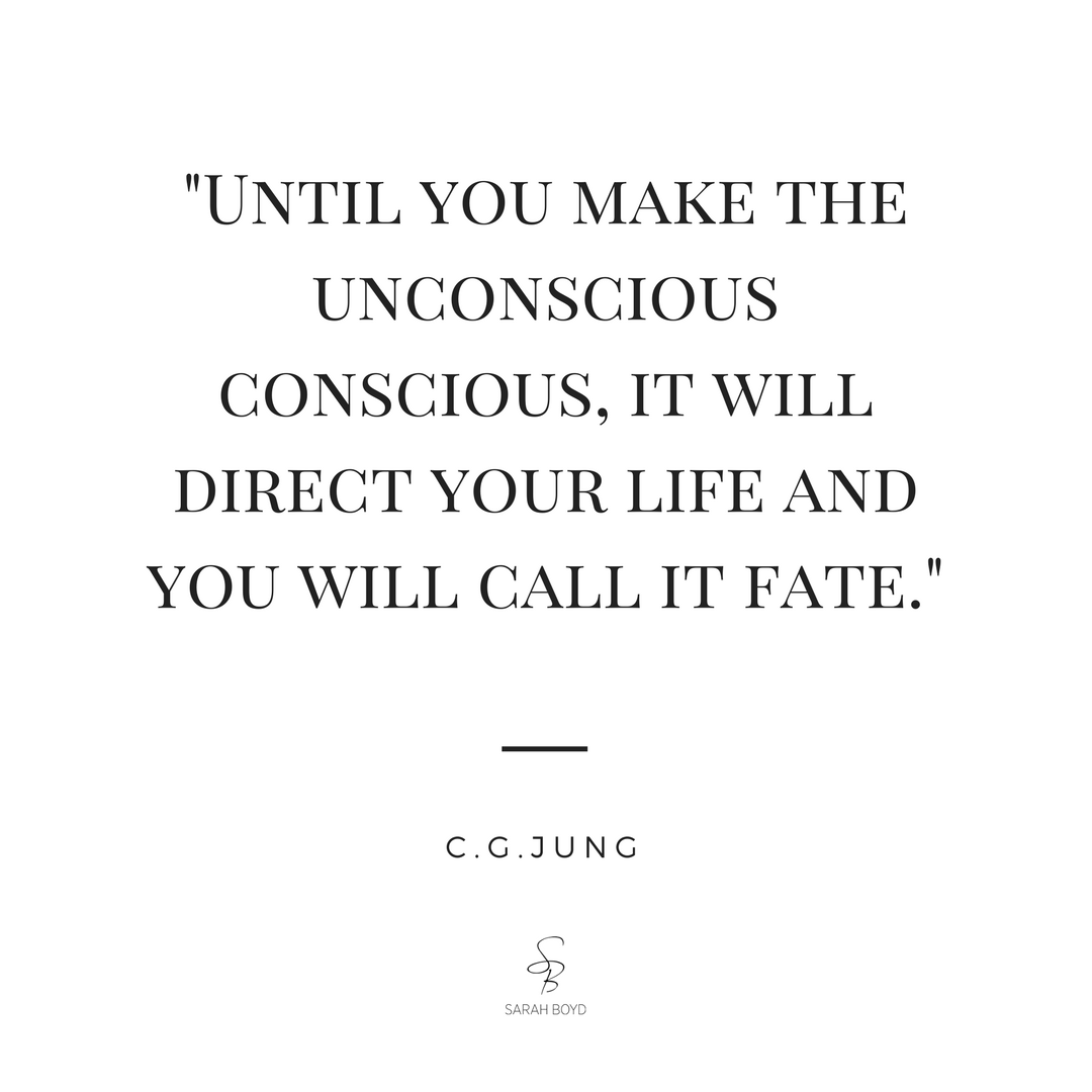 Until you make the unconscious, conscious it will direct your life
