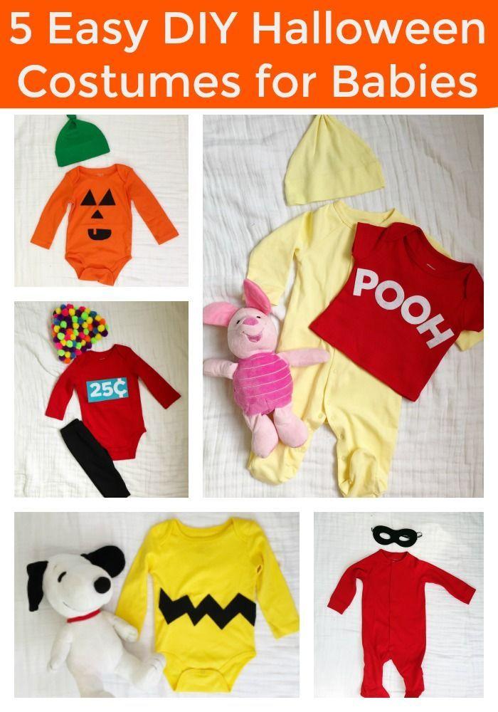 5 Easy DIY Halloween Costumes for Baby Easy diy halloween costumes - diy infant halloween costume ideas