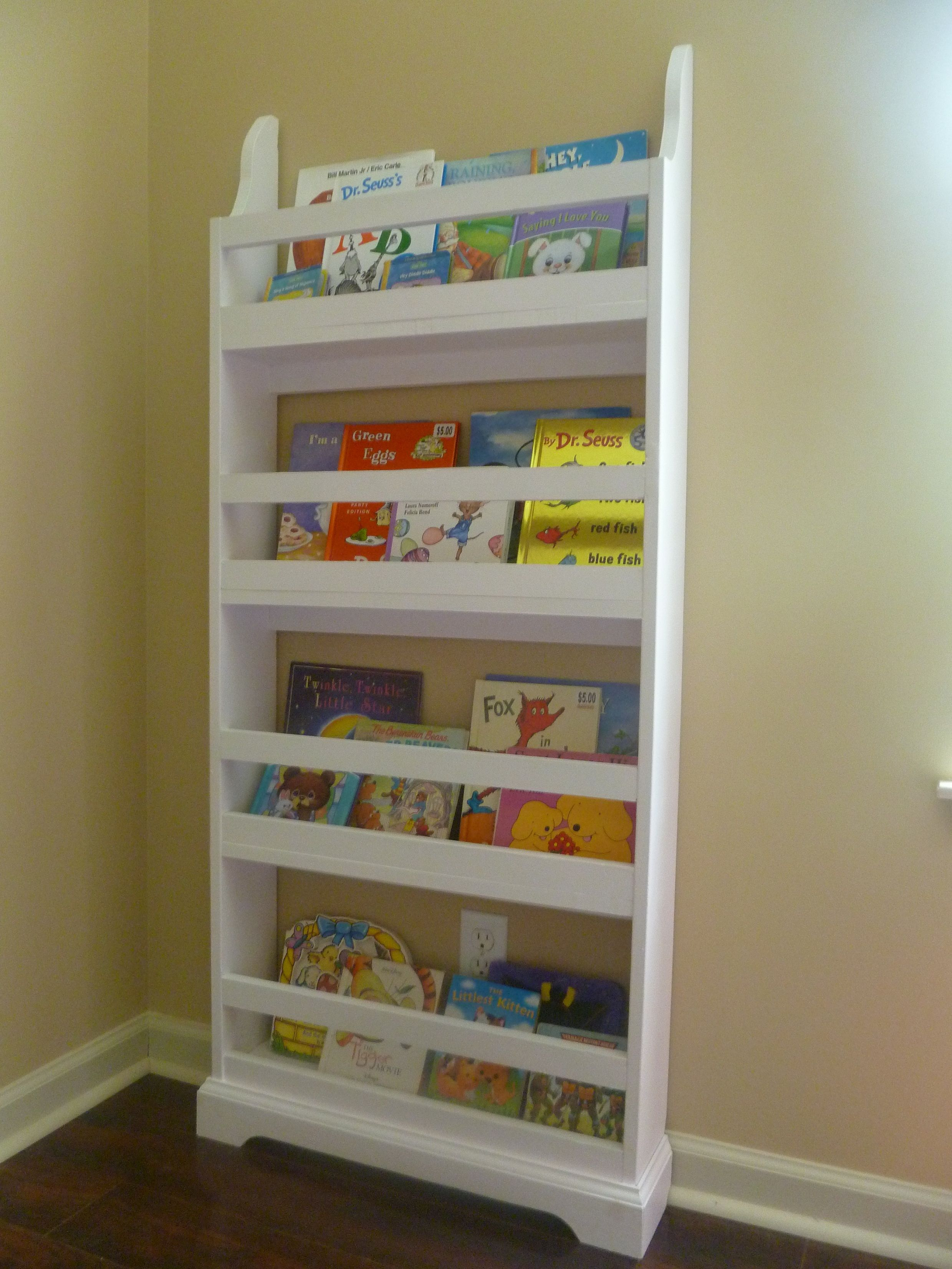 Bookshelf For Kids Room For The Girls Room Kids Wall Bookshelves Bookshelves