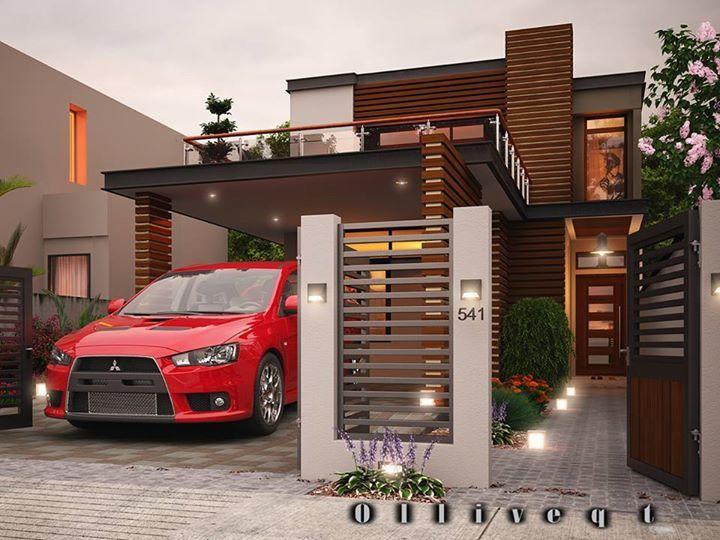 modern residential conceptual design - Conceptual Design House