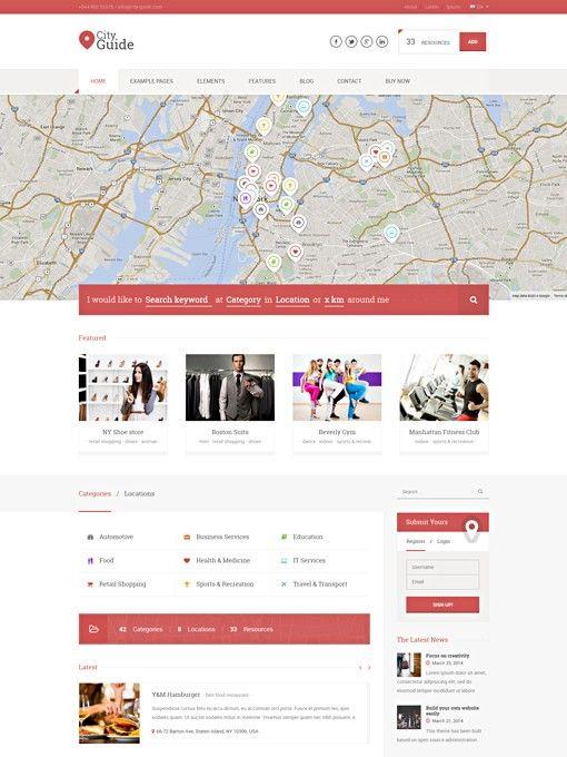 Directory WordPress Theme   Portal WordPress Theme   Listing ...