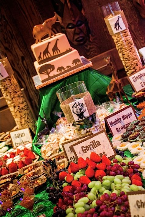 Cake Safari/African Theme. Baby Shower ...