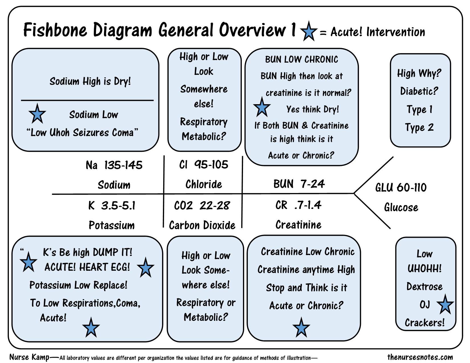 electrolytes chem 7 fishbone diagram