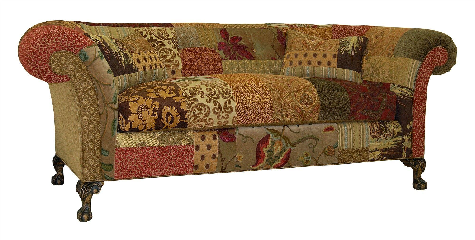 Jeffrey Zimmerman Furniture The Jeff Collection Bronson Tufted Back Sofa Kcf