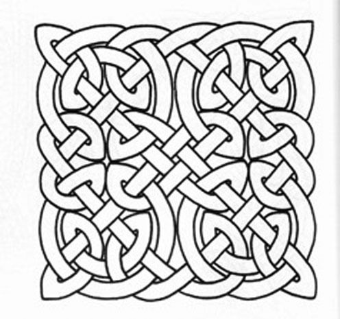 Find Here The Collection Of Celtic Knot Patterns As Free And Printable