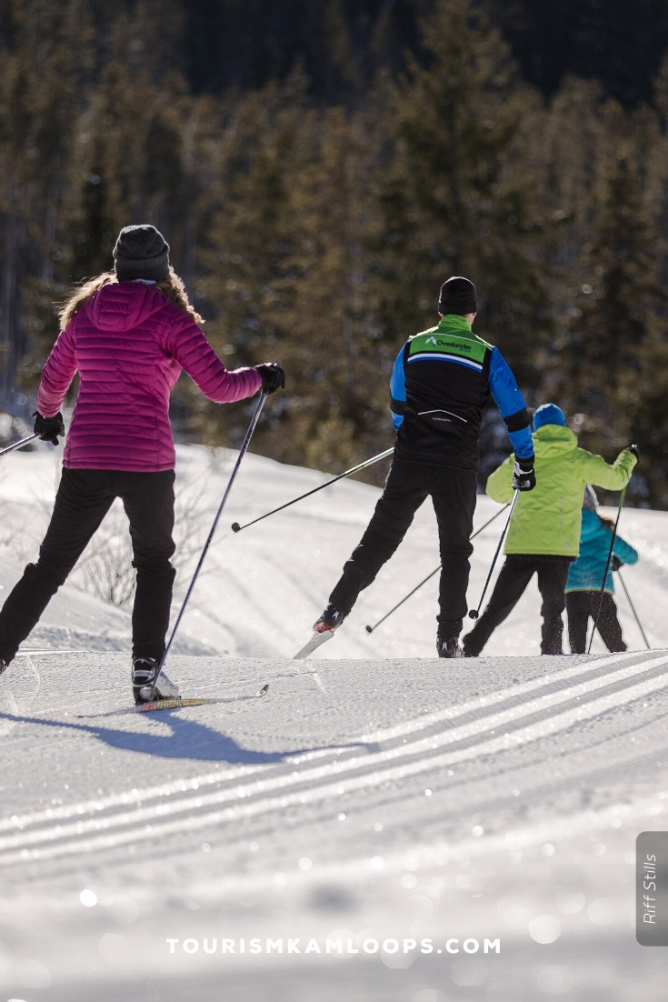 Kamloops is home to a network of renowned crosscountry