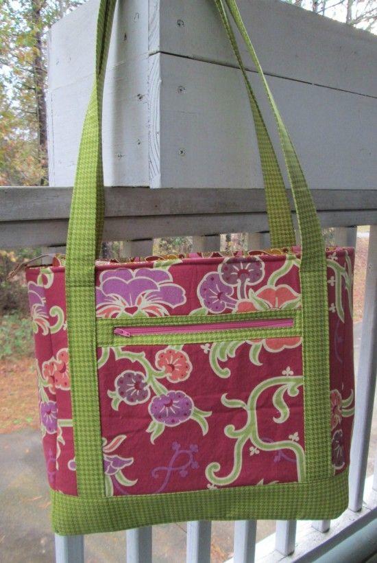 Tudor Bag   Pinterest   Diy tasche, Taschen nähen und Nähen