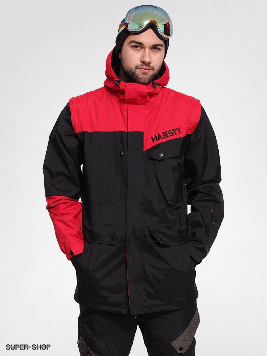 Majesty Snowboard jacket Metatron (black/red)