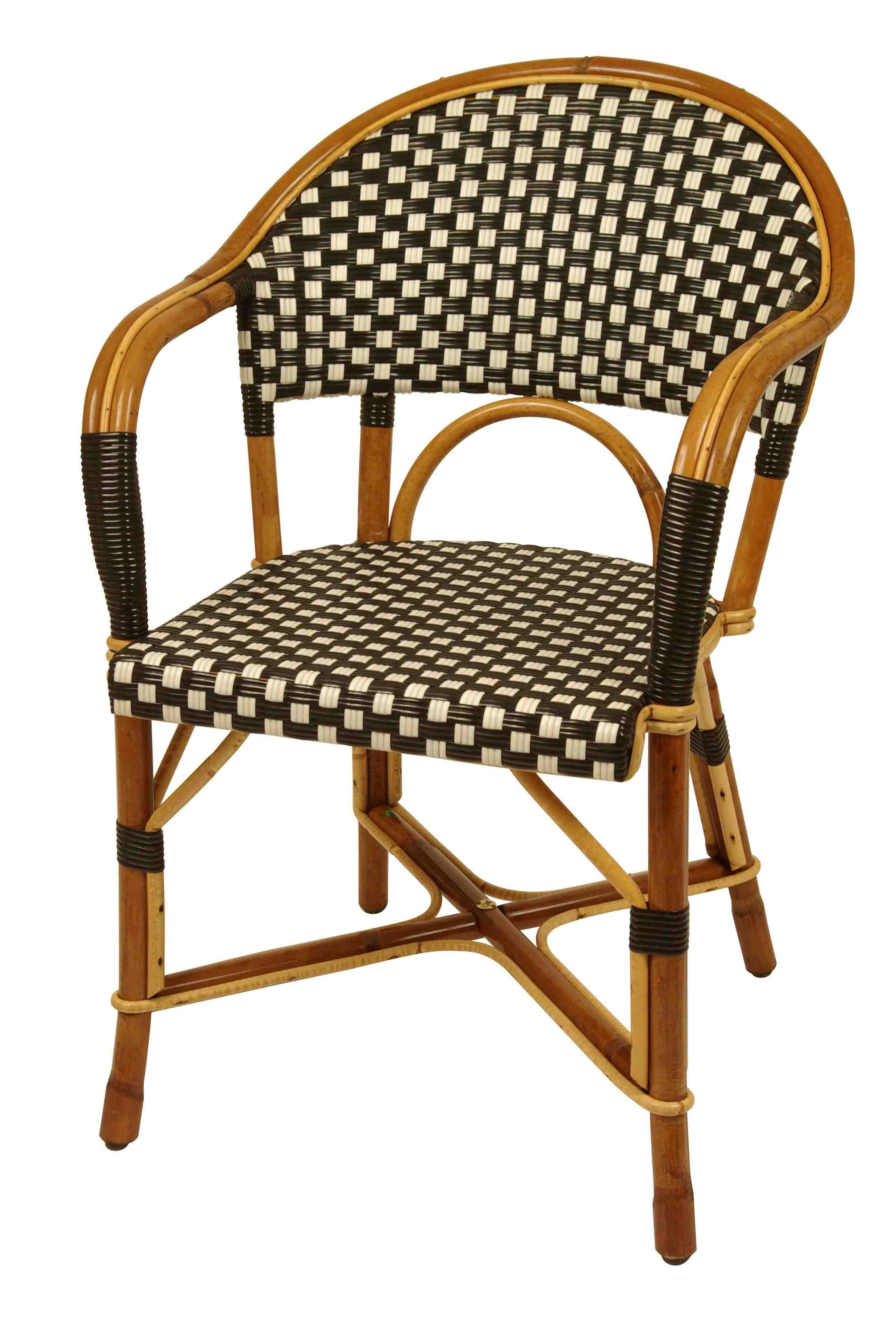 French bistro chairs metal - Fauteuil Matignon French Bistro Chair From Drucker Collection Tradition