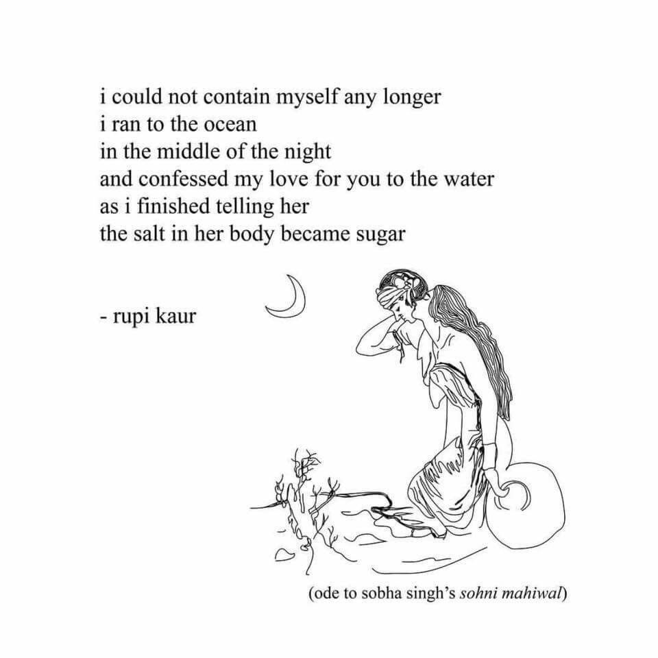 The Sun And Her Flowers Poetry Inspiration Rupi Kaur