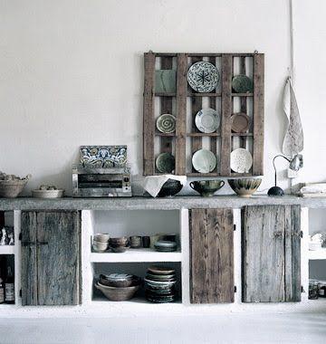 Raw wood kitchen so in der art, wenn du einen schreiner kennst - küche selber machen