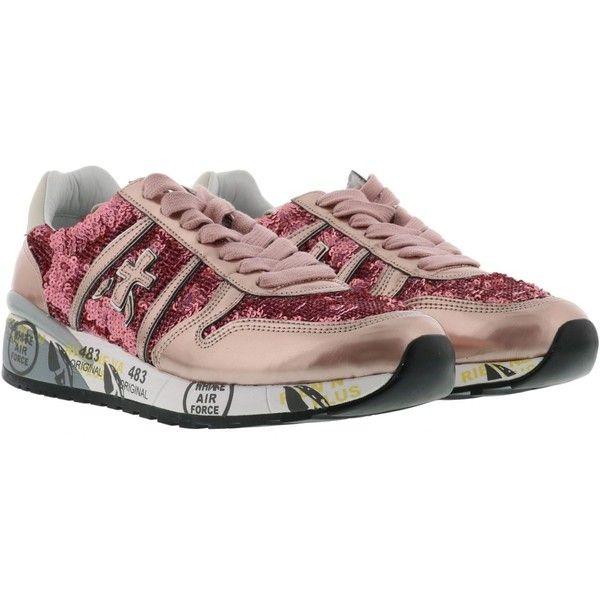 Chaussures De Sport En Dentelle Noire Liz Premiata Clt9BBjV8