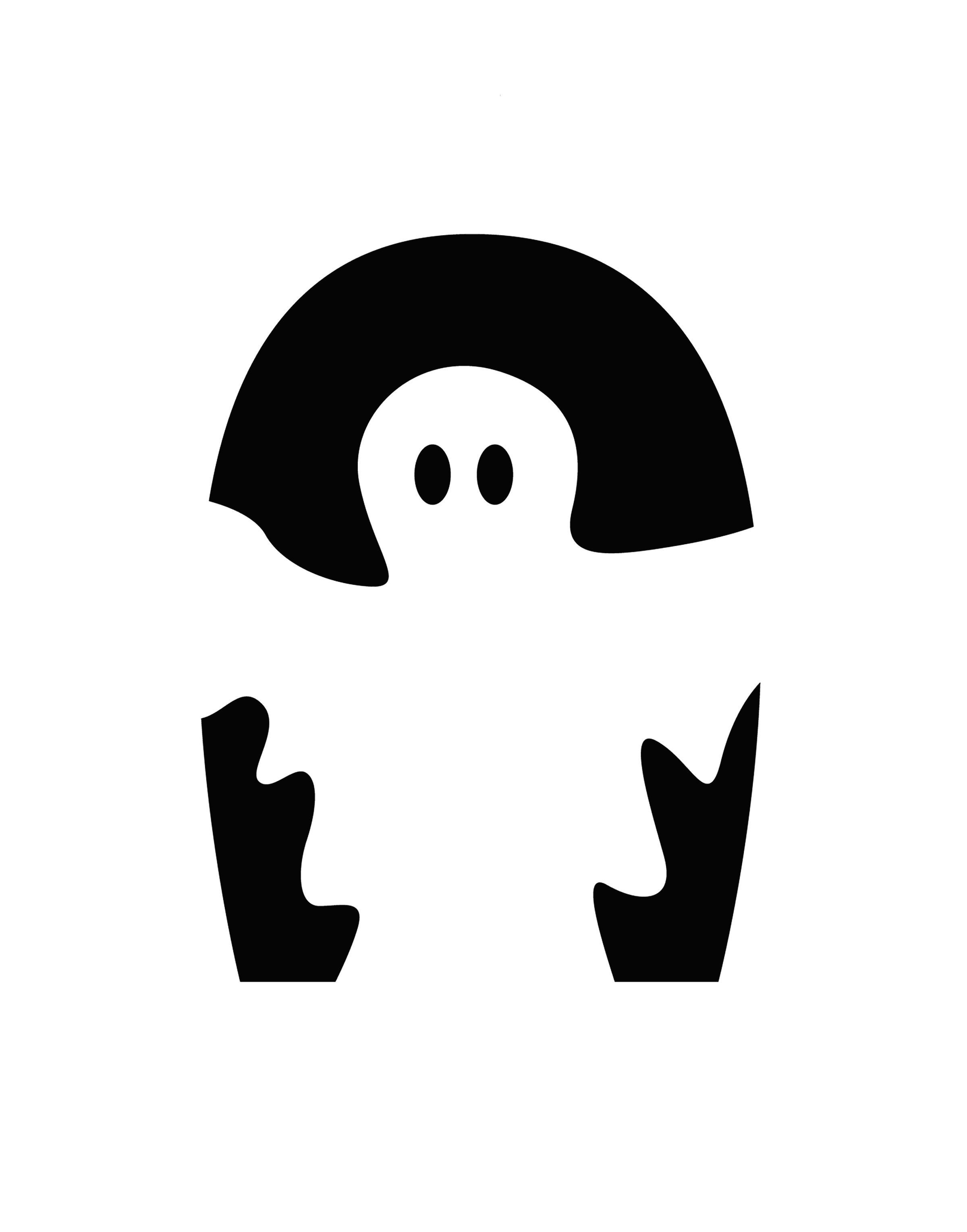 Ghost - Pumpkin Template | Halloween | Pinterest | Ghost pumpkin ...