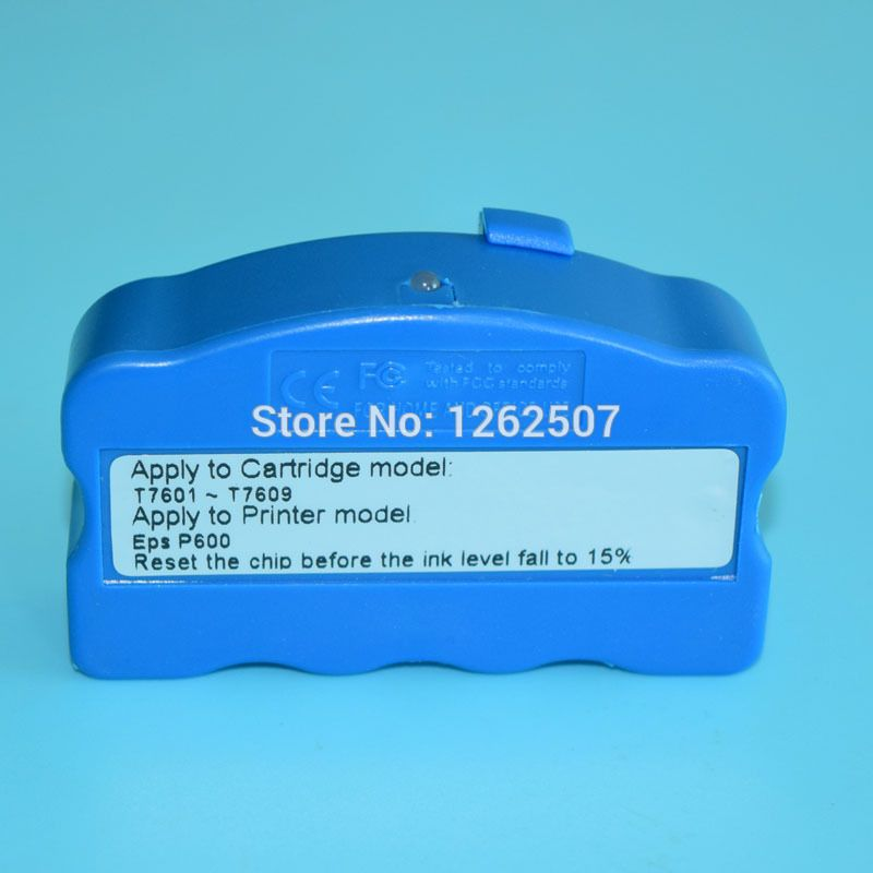 Free shipping!! For Epson Surecolor P600 cartridge chip