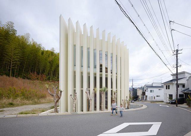 House In Muko By FujiwaraMuro Architects (Kyoto Prefecture, Japan).