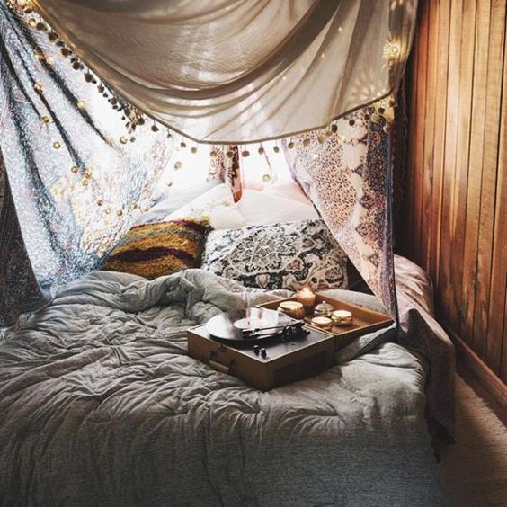 Hipster Bedroom Bohemian In Love Hippy Boho Fashion Room Chic Hippie Style House Home Decor Diy Canopy