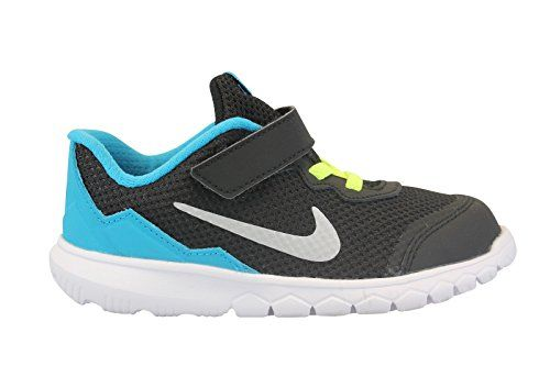 info for b56fe a8365 NIKE BOYS FLEX EXPERIENCE 4 TDV TODDLER SHOES 5 M US TODDLER  BLACKSILVERBLUE LAGOON   Read more reviews of the product by visiting the  link on the image.