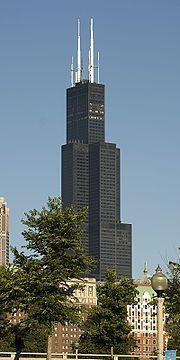Chicago Sears Tower Chicago Skyscraper Sears Tower