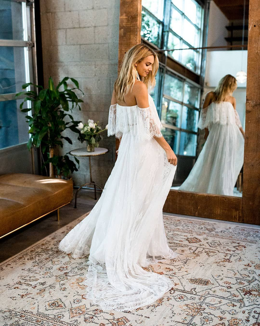 Boho Bridal Gowns, Lace Weddings
