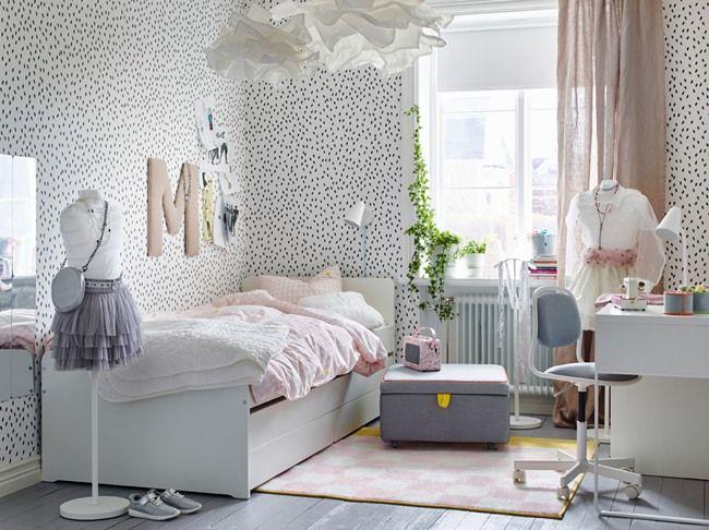 habitaciones juveniles con muebles de ikea