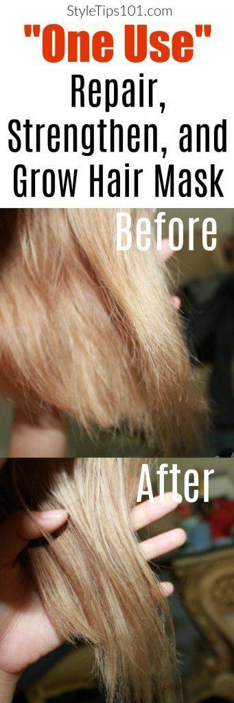 Diy Soft Strong Hair Mask Recipe Hair Hair Coconut Oil Hair