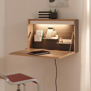 Muller Flatbox Wandsekretar Platzsparende Mobel Schreibtischideen Mobel Zum Selbermachen