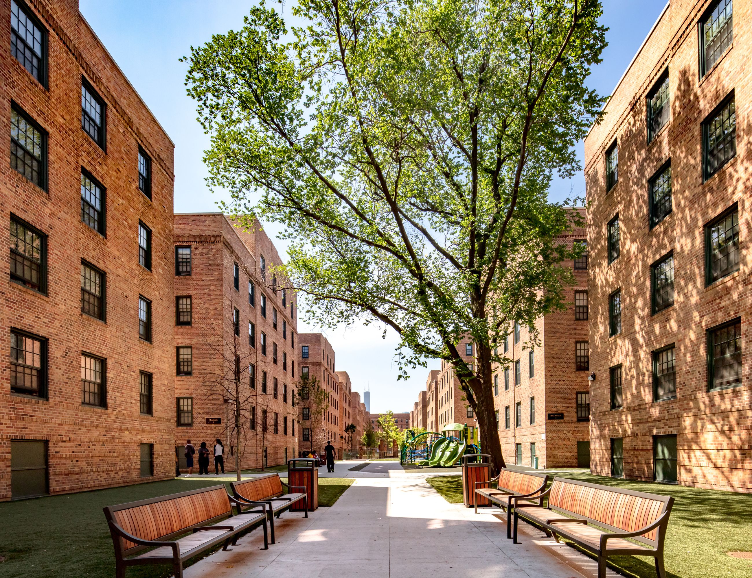 Marshall Field Apartments Courtyard Courtyard Apartments Apartment Garden Courtyard