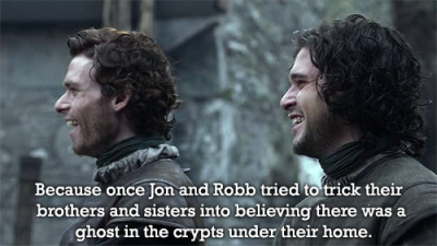 why we love the starks http://whywelovethestarks.tumblr.com/