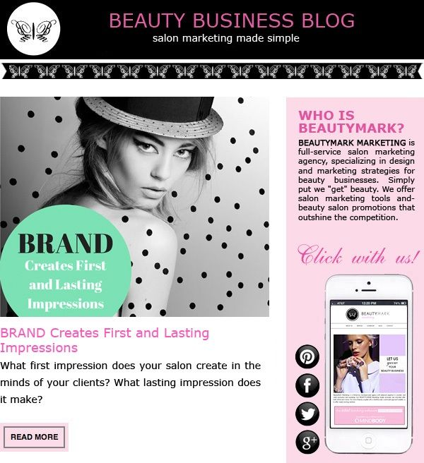 Pin By Beautymark Marketing On Salon Marketing Ideas Salon Promotions Salon Marketing Beauty Salon Logo