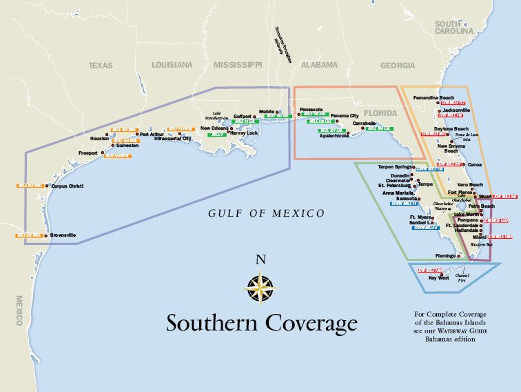 Image result for Gulf Coast Intracoastal Waterway Map | Gulf ...