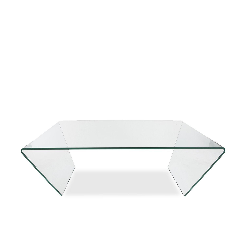 Mesa De Centro Glass Trapezzo Mesas De Centro Sillas De Dise O  # Muebles Zb Zaragoza