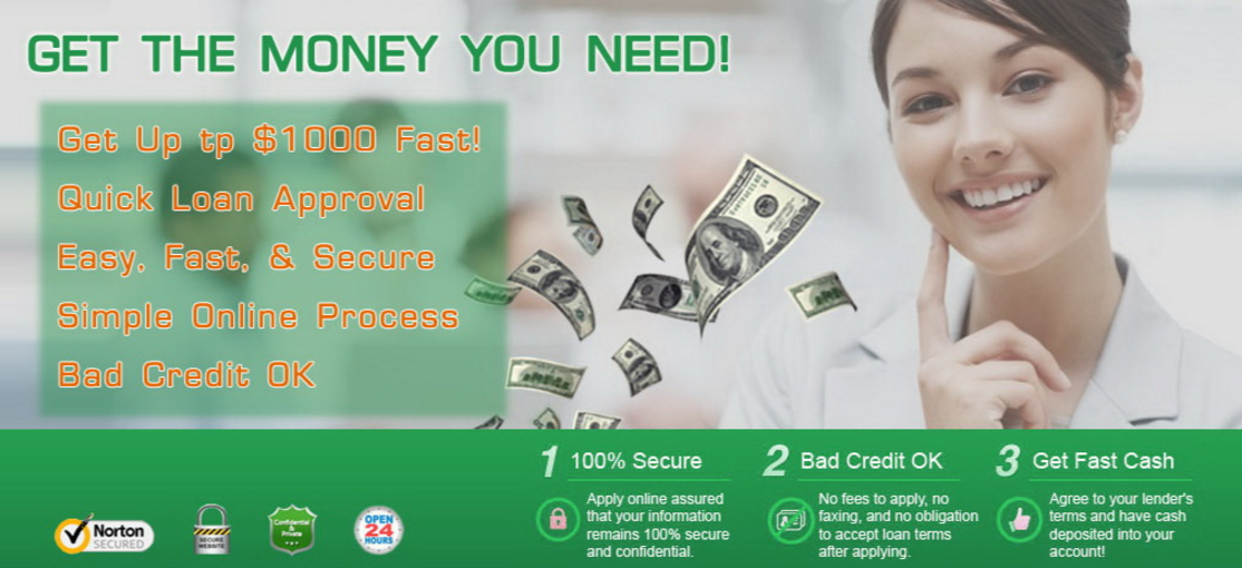 Payday Loans That Never Say No - Quick and Secure