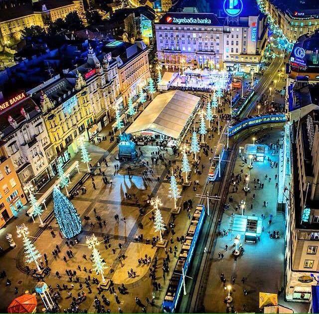 Zagreb Christmas Croatia Holiday Zagreb Croatia Croatia