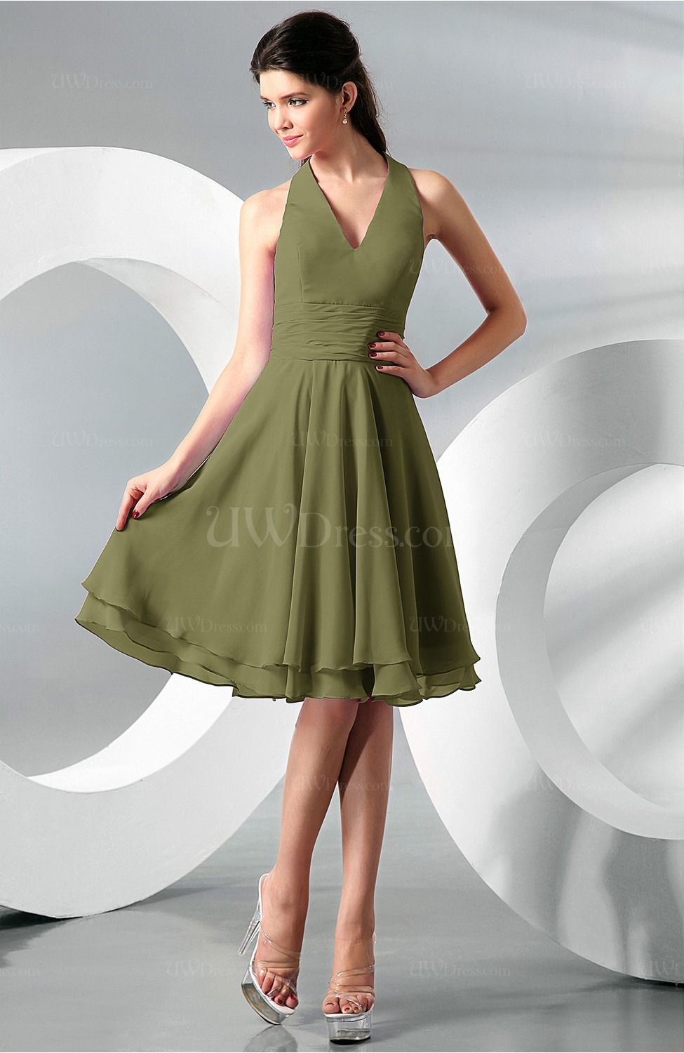 Olive bridesmaid haltar google search wedding ceremony