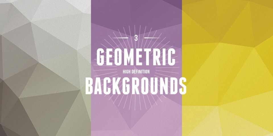 3 Geometric Backgrounds by Michael Reimer (jpeg and ai files)