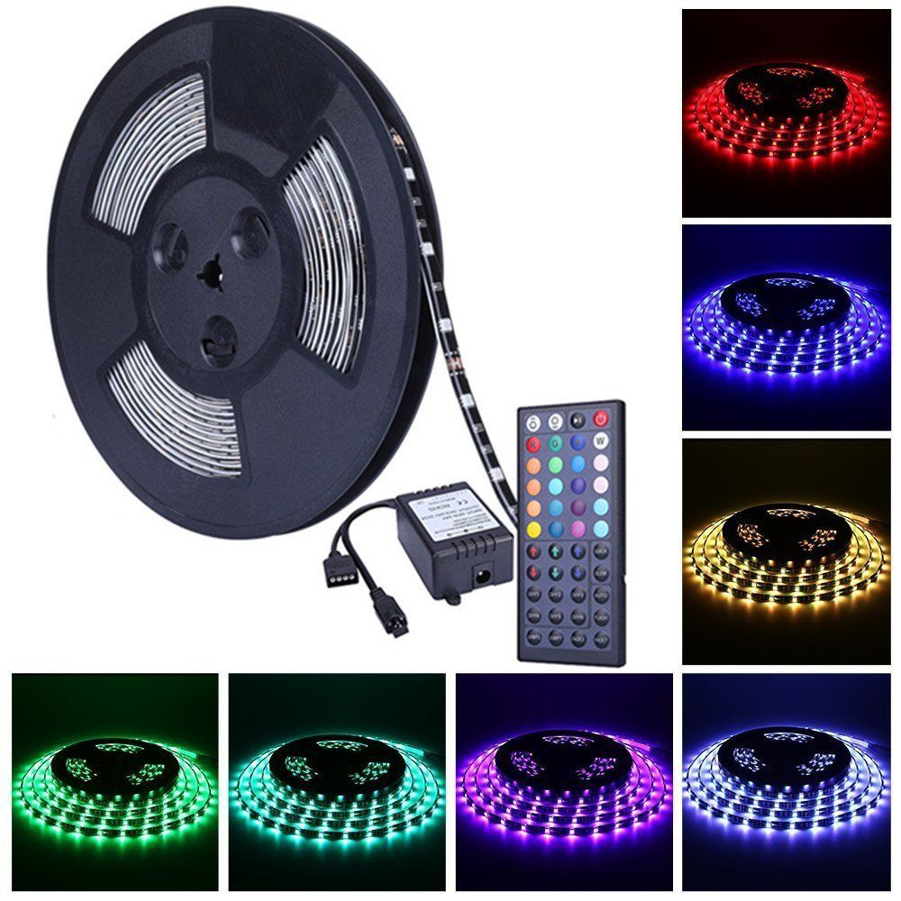 Color Changing Rope Lights Glamorous Miheal Waterproof 5050 Smd 328Ft 10M Rgb Led Strip Light Kit Design Ideas