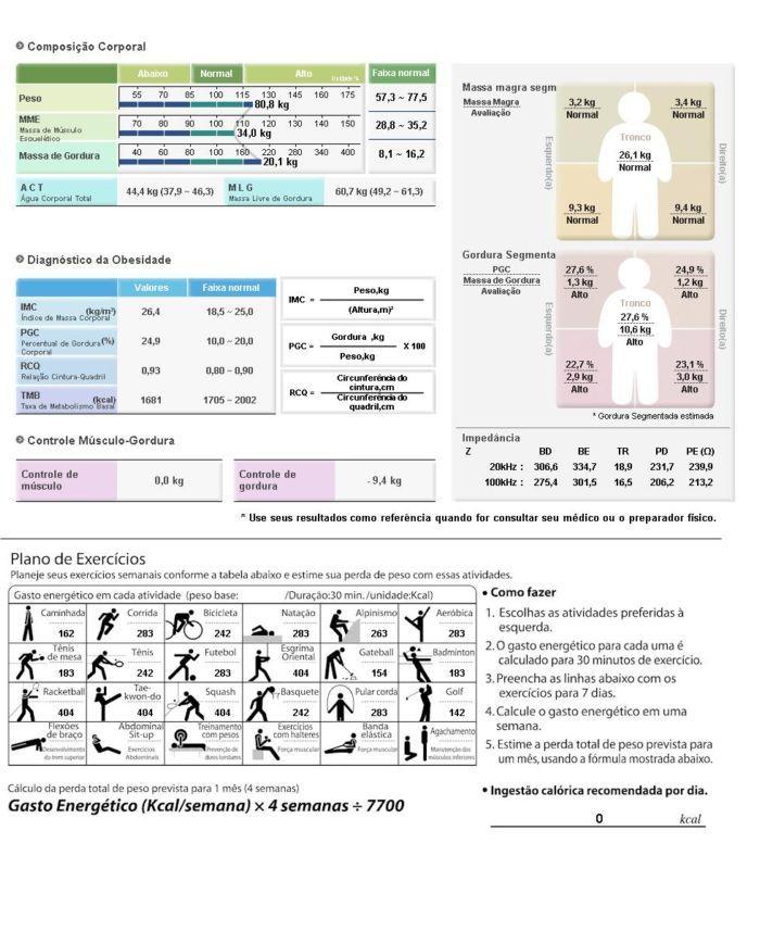 EXAME DE BIOIMPEDÂNCIA   Confira um novo artigo em http://alimentarecomer.com/exame-de-bioimpedancia/