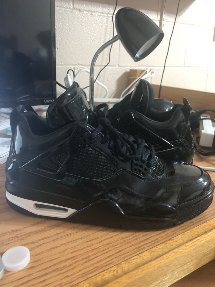 on sale 119dd 66378 Air jordan 4 11lab4 Black US Men Size 9.5 Pre-owned  fashion  clothing   shoes  accessories  mensshoes  athleticshoes (ebay link)